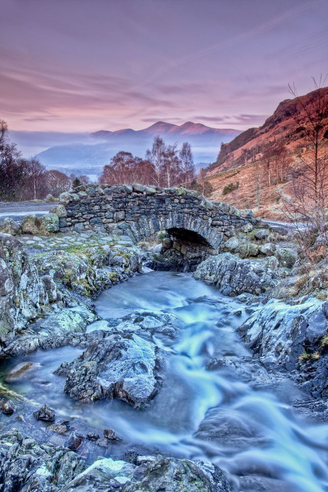 Twiliight at Ashness Bridge one late December afternoon.