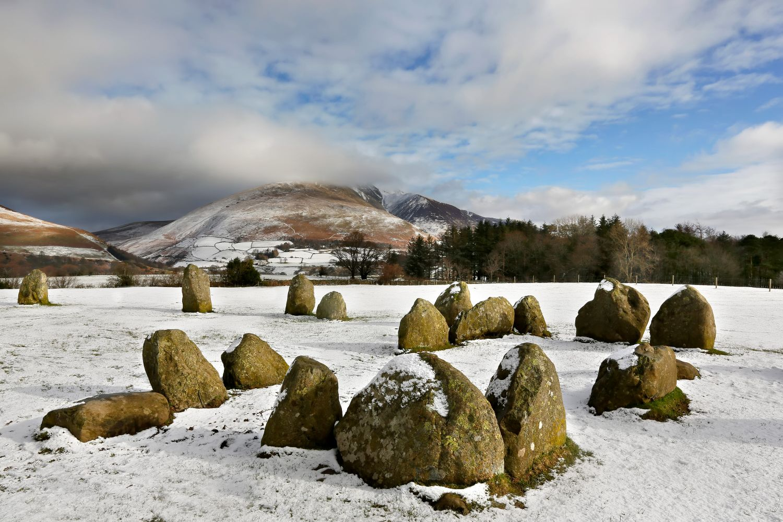 Winter at Castlerigg Stone Circle