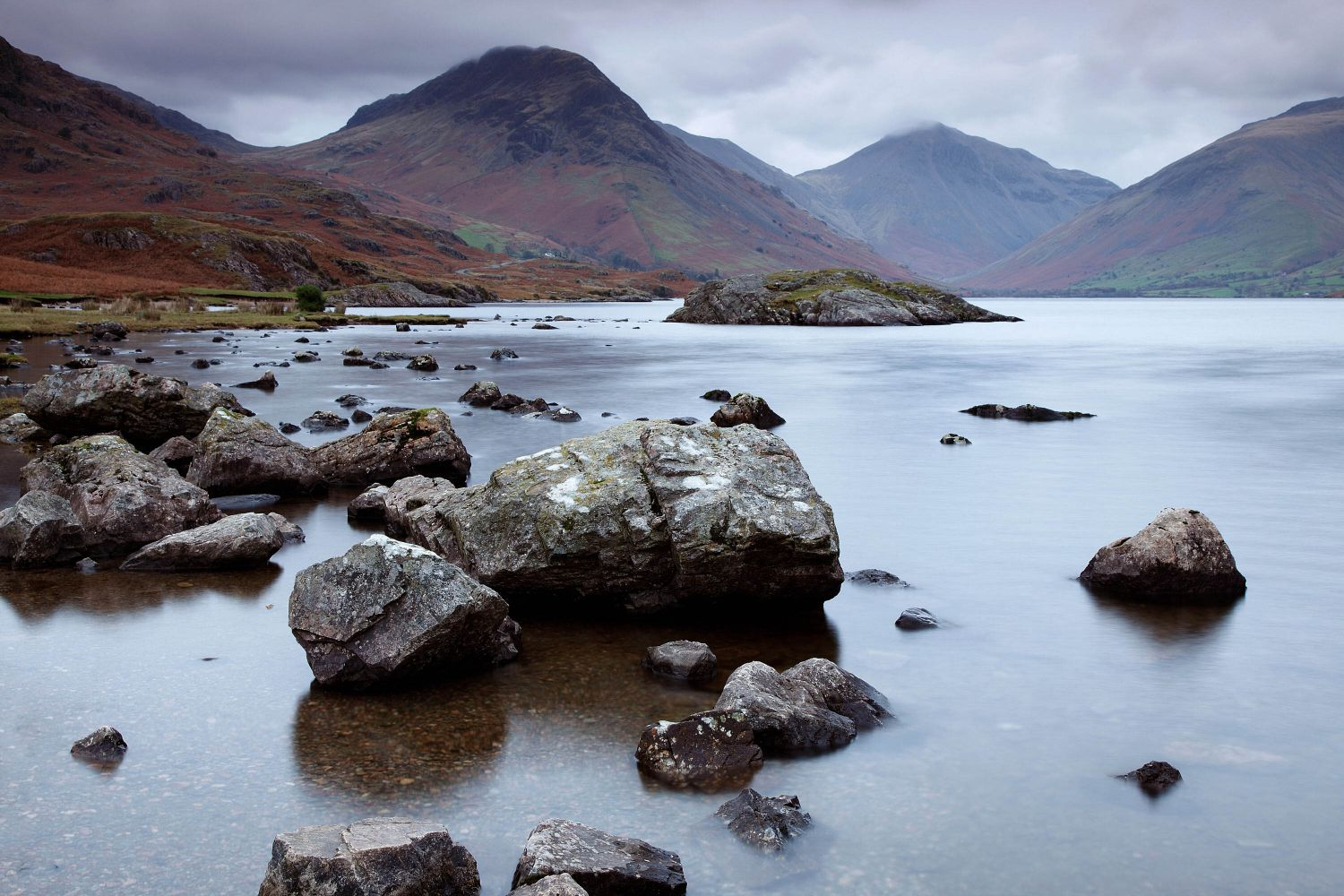 Wasdale Head in Twilight