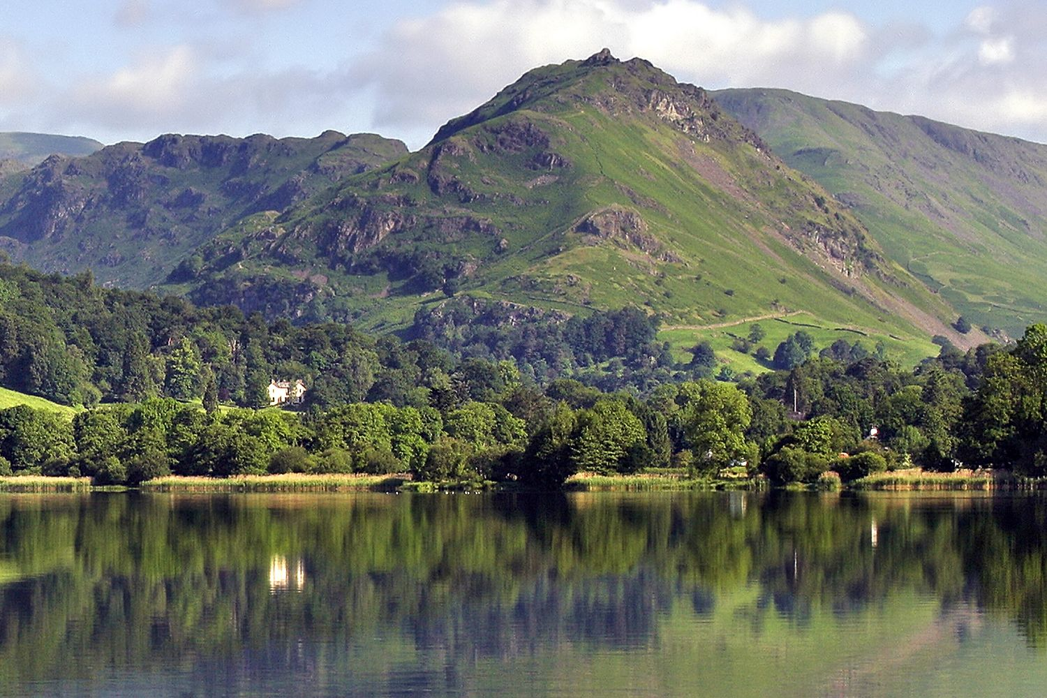 Grasmere and Helm Crag by landscape photographer Martin Lawrence