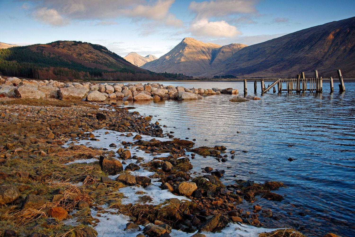 The Old Pier at Loch Etive