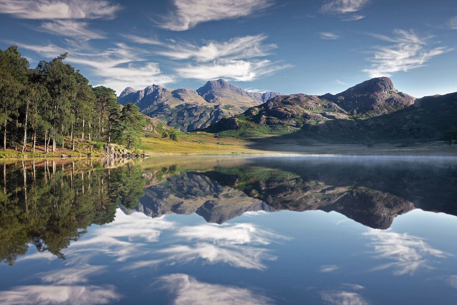 Dancing clouds above The Langdales and Blea Tarn by Martin Lawrence