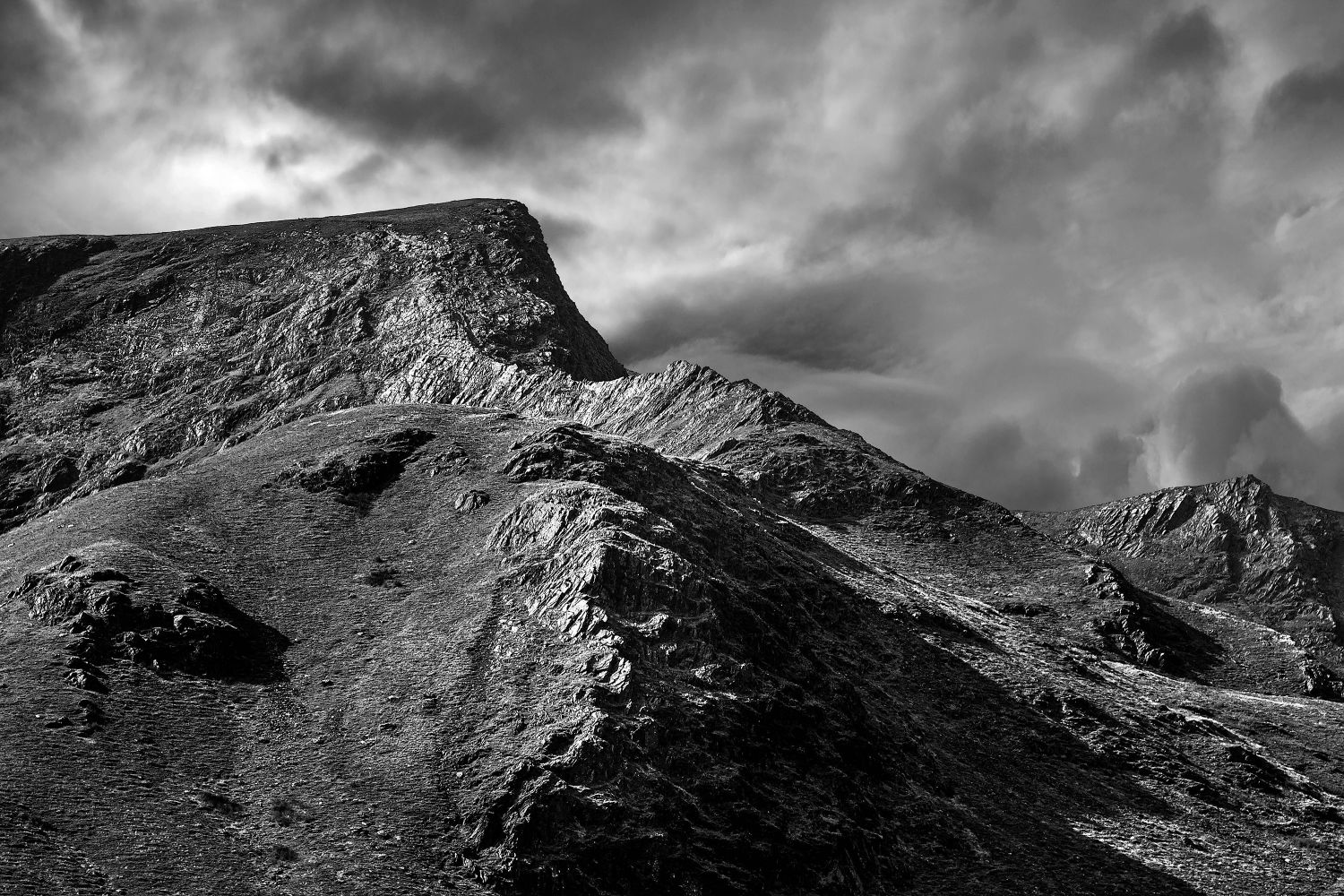 Foule Crag and Blencathra by Martin Lawrence