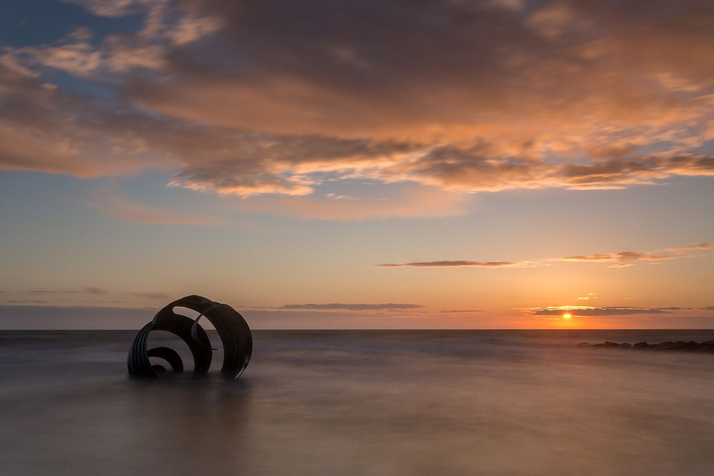 Mary's Shell on Cleveleys Beach, Lancashire