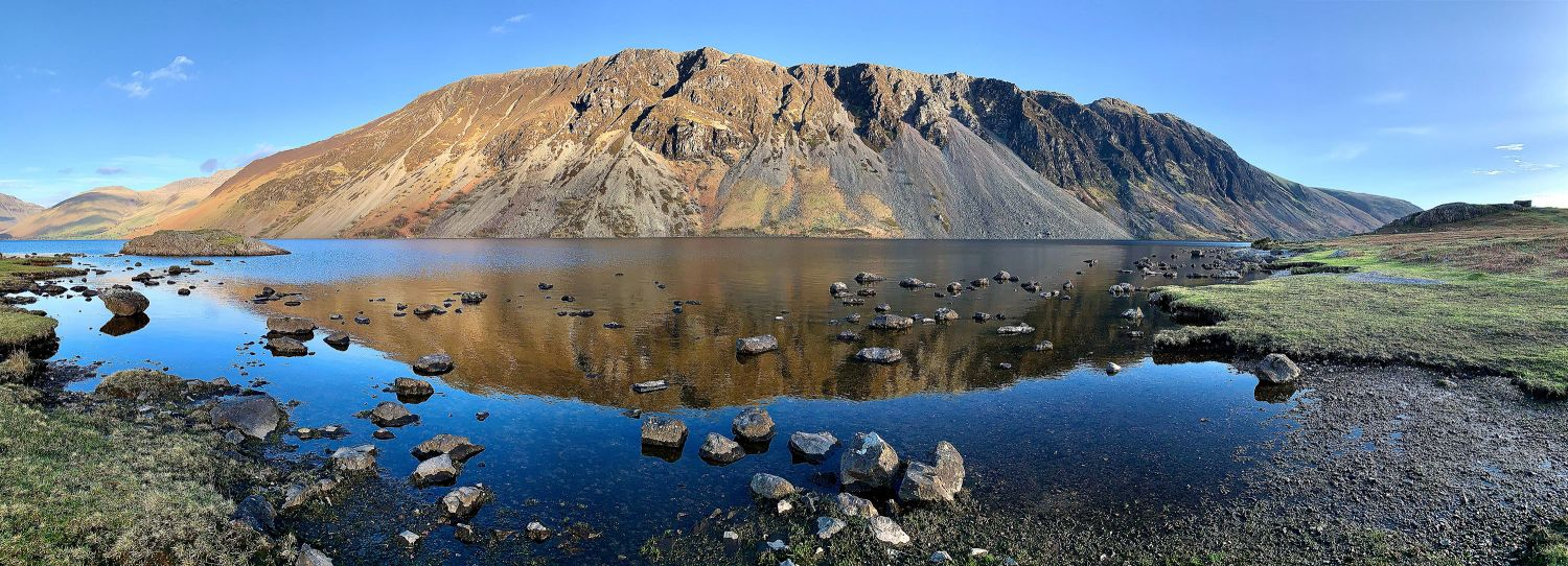The Wastwater Screes by Martin Lawrence