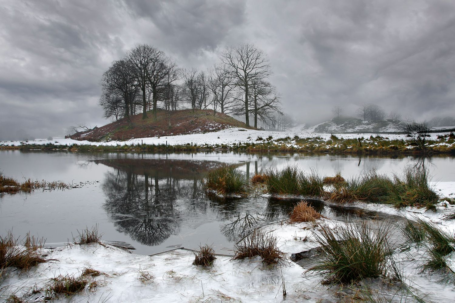 Winter along the River Brathay by Martin Lawrence