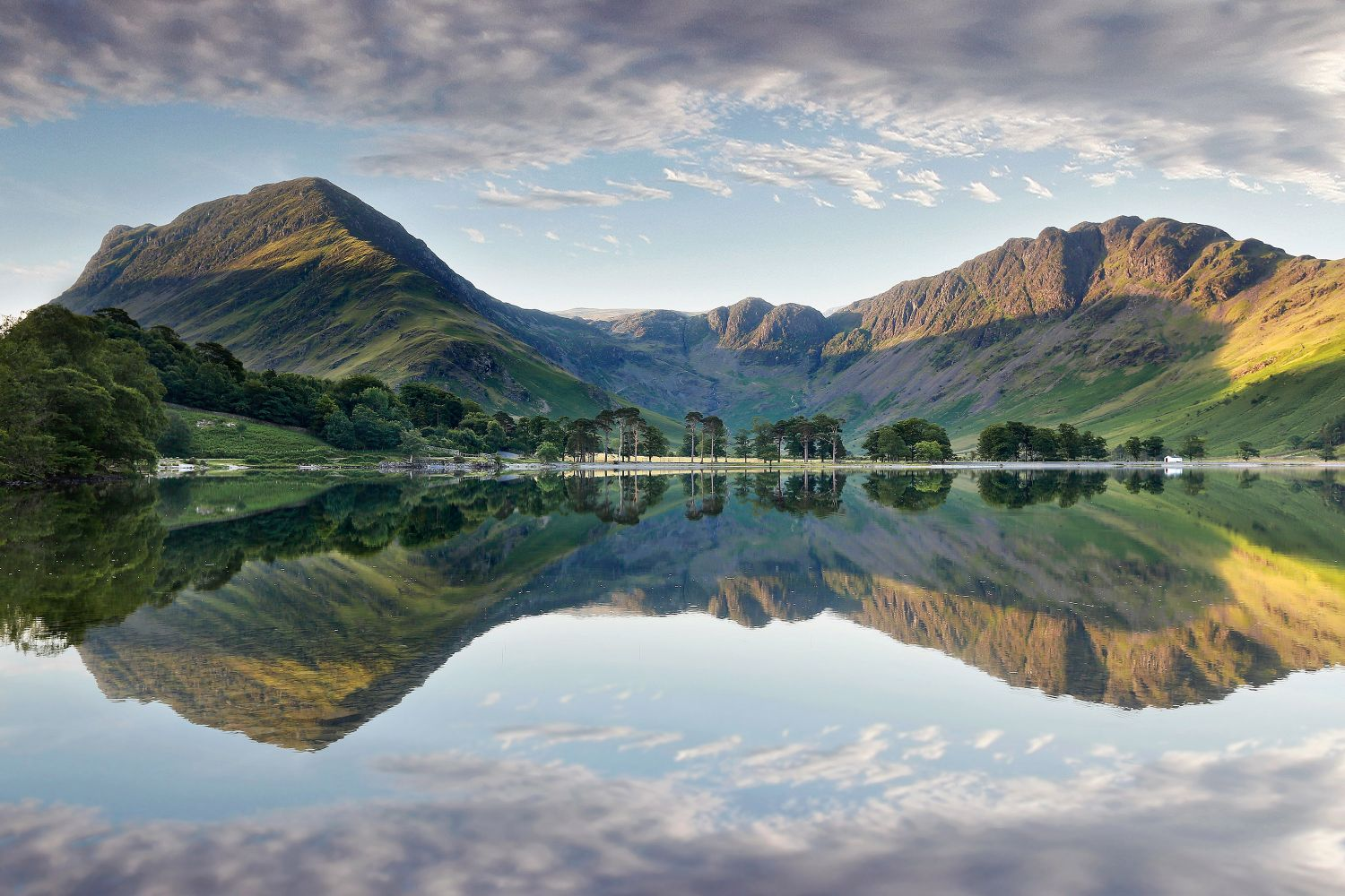 Morning Light over Buttermere by Landscape Photographer Martin Lawrence