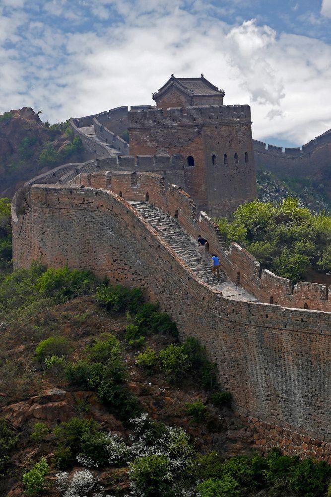 The Great Wall of China from Jinshanling