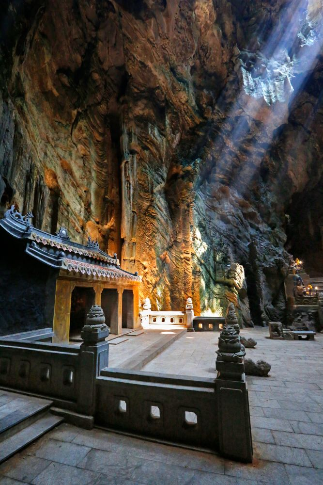 Hospital Cave at Marble Mountain Vietnam