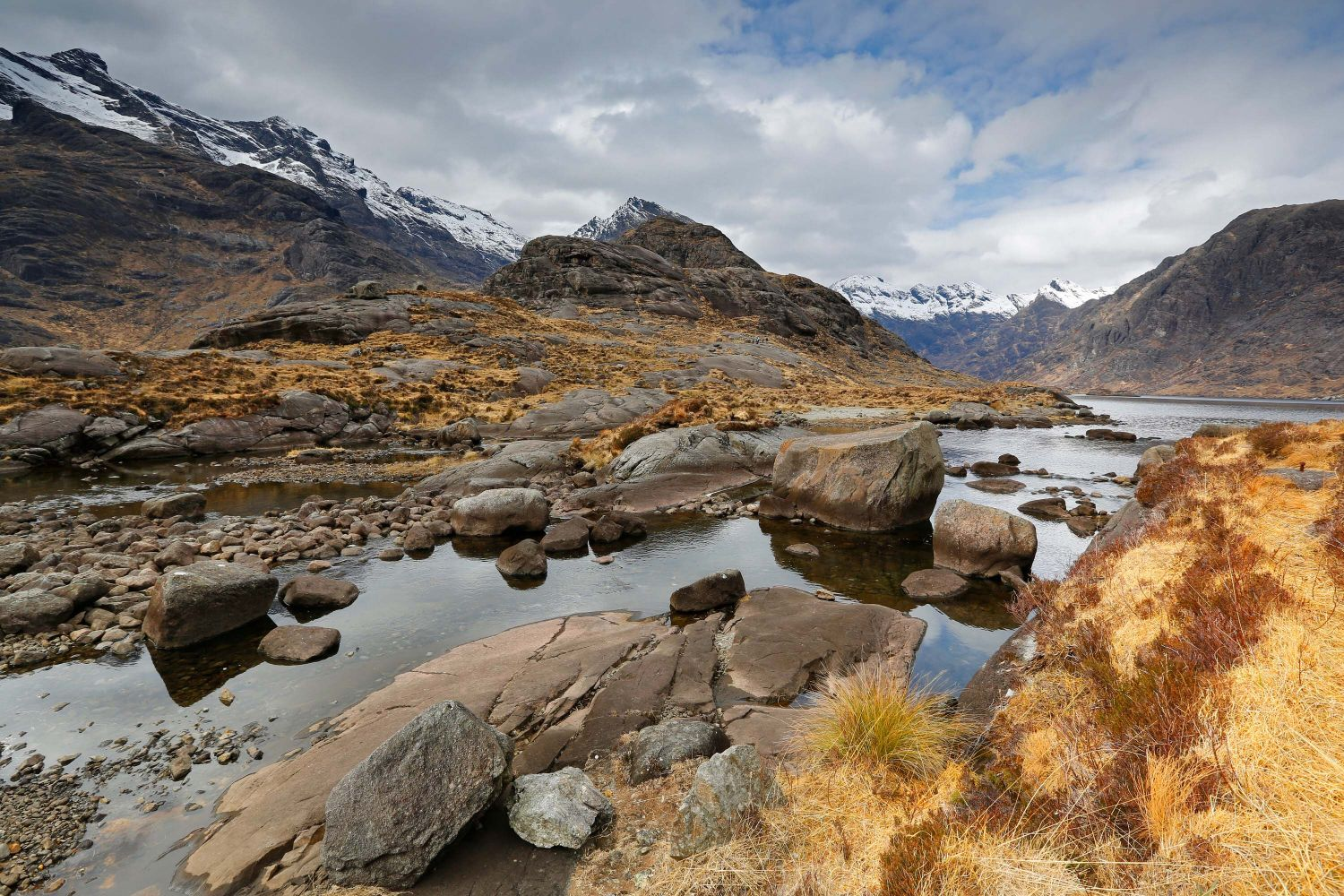 Loch Coruisk after taking a boat trip from Elgol