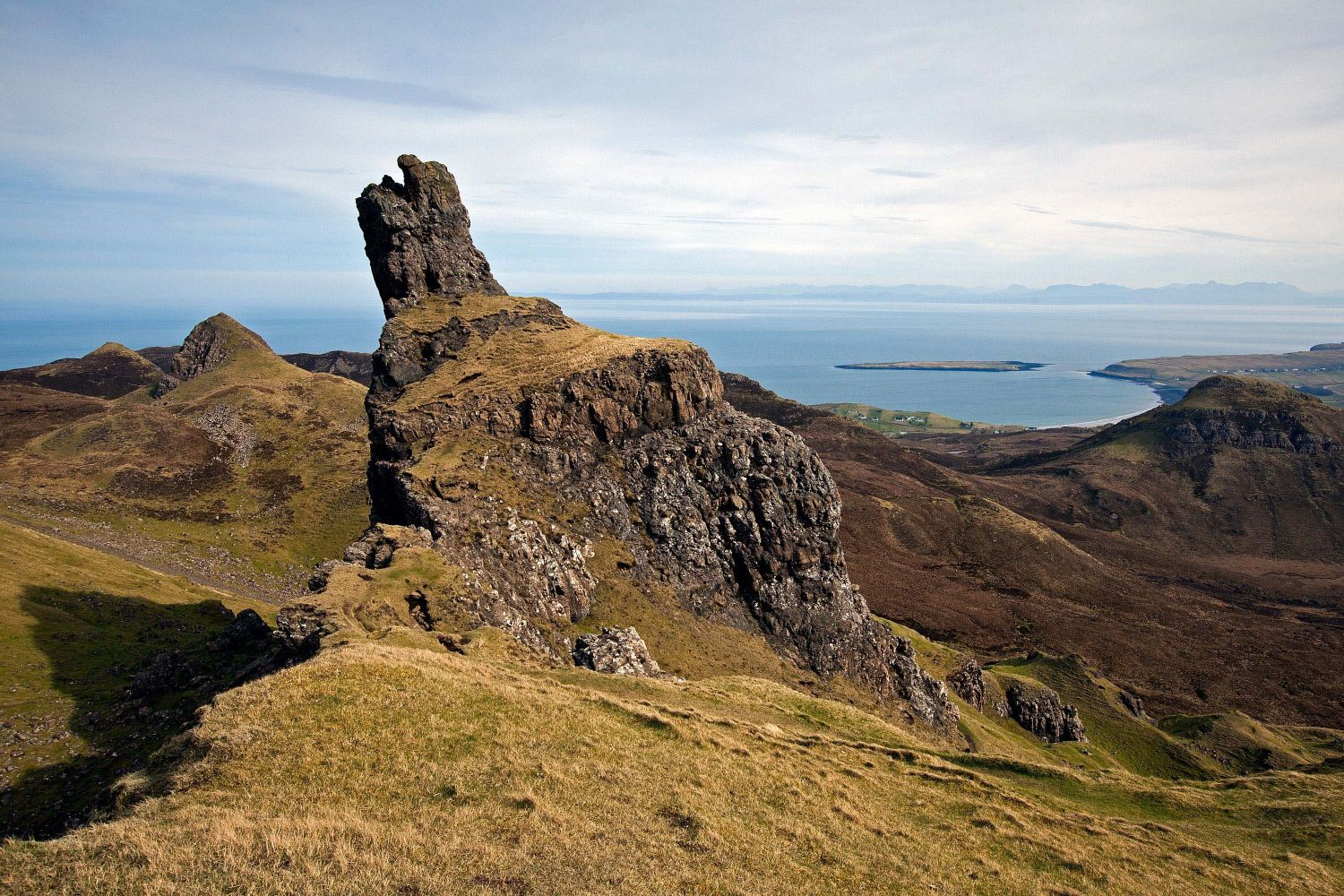 The Prison at the Quiraing along the Trotternish Peninsula