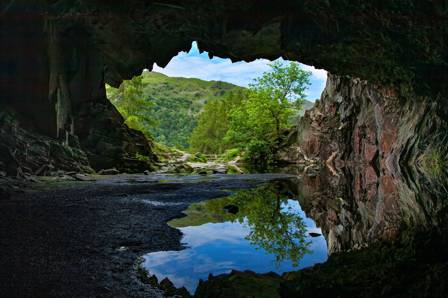 Rydal Cave by Martin Lawrence