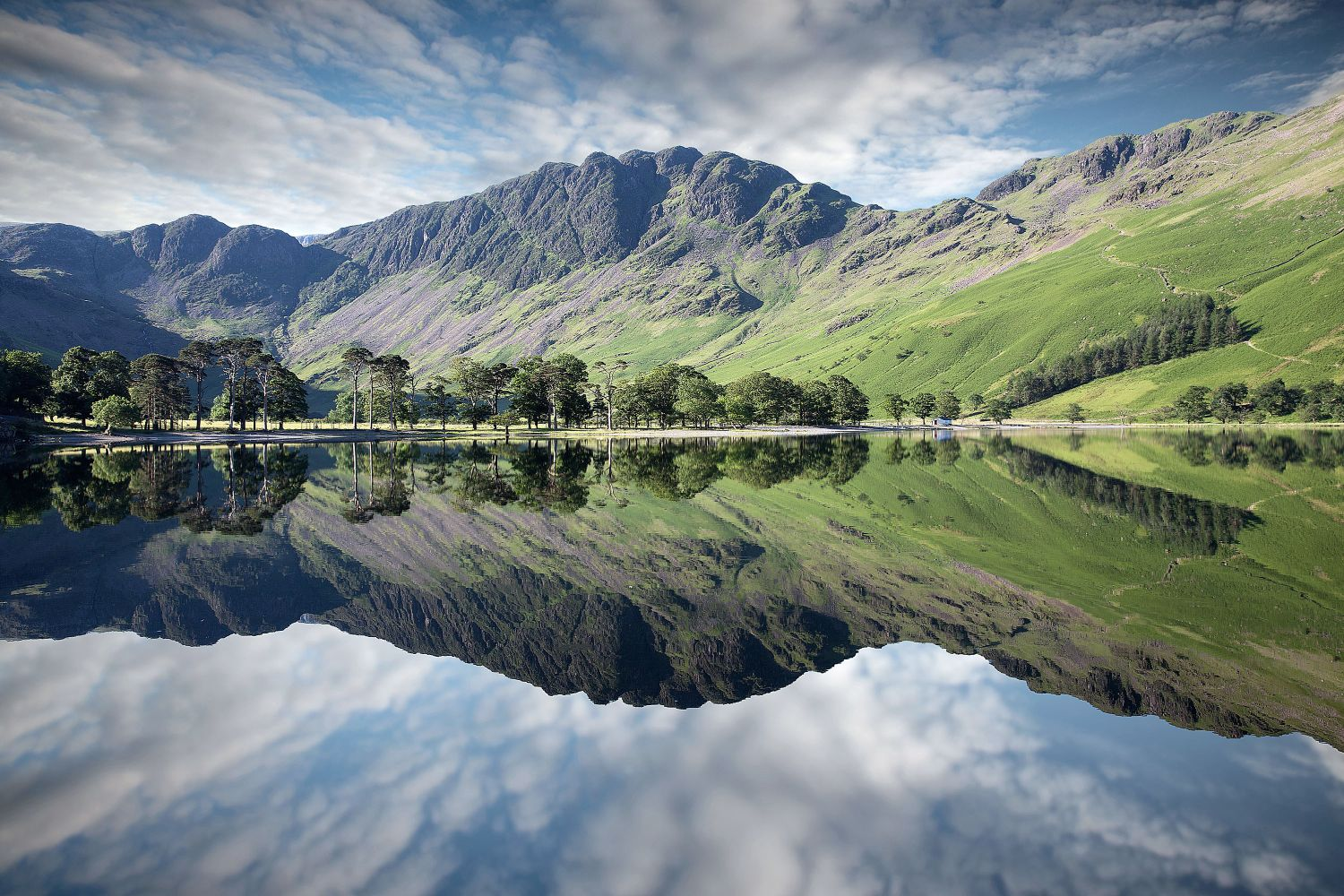 Reflections of Haystacks in Buttermere by Martin Lawrence