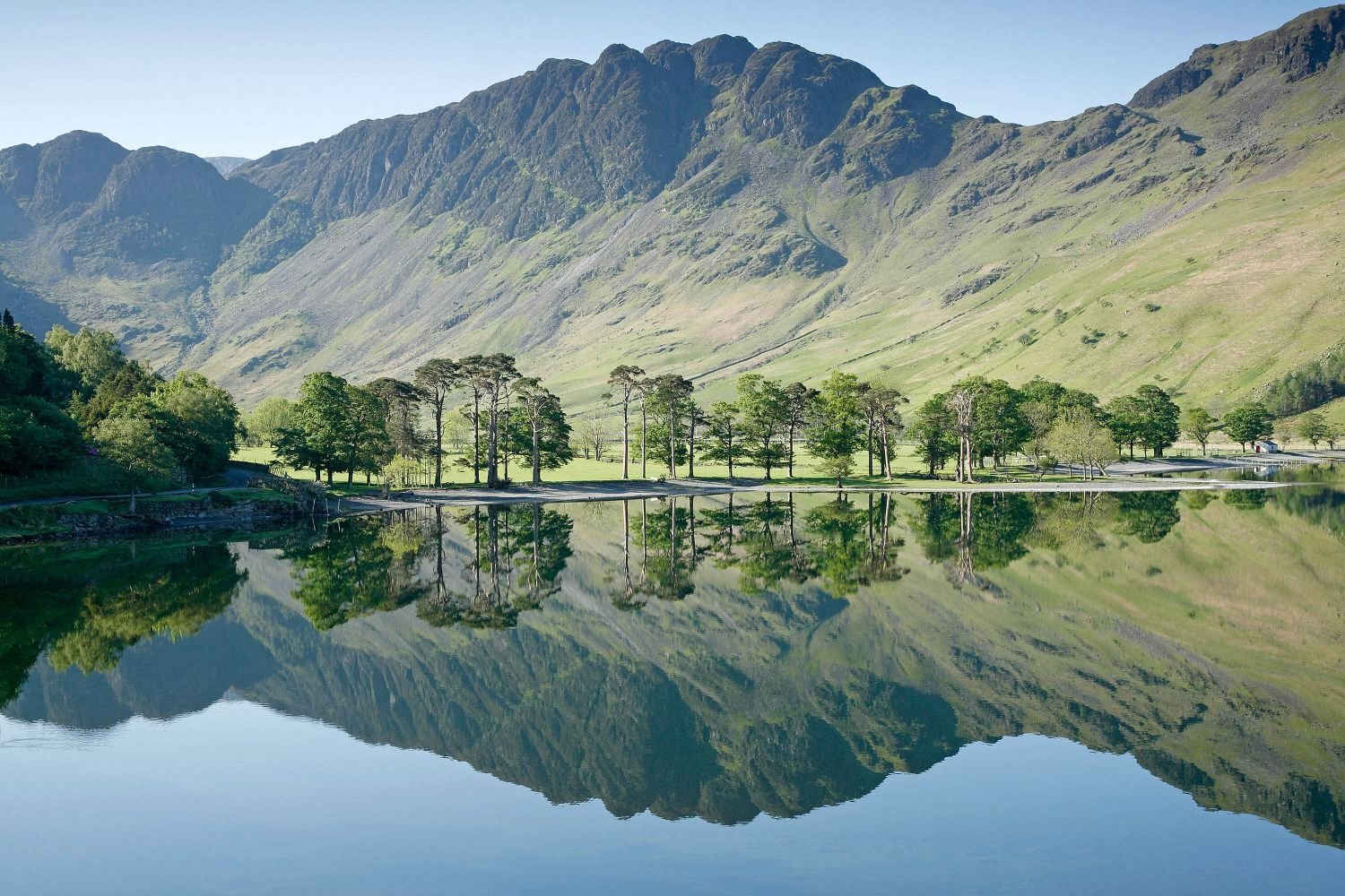 Haystacks reflections in Buttermere