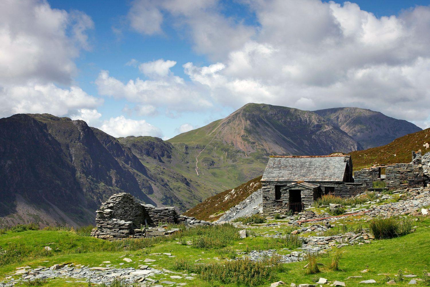 Haystacks and High Crag from Dubs Hut Bothy