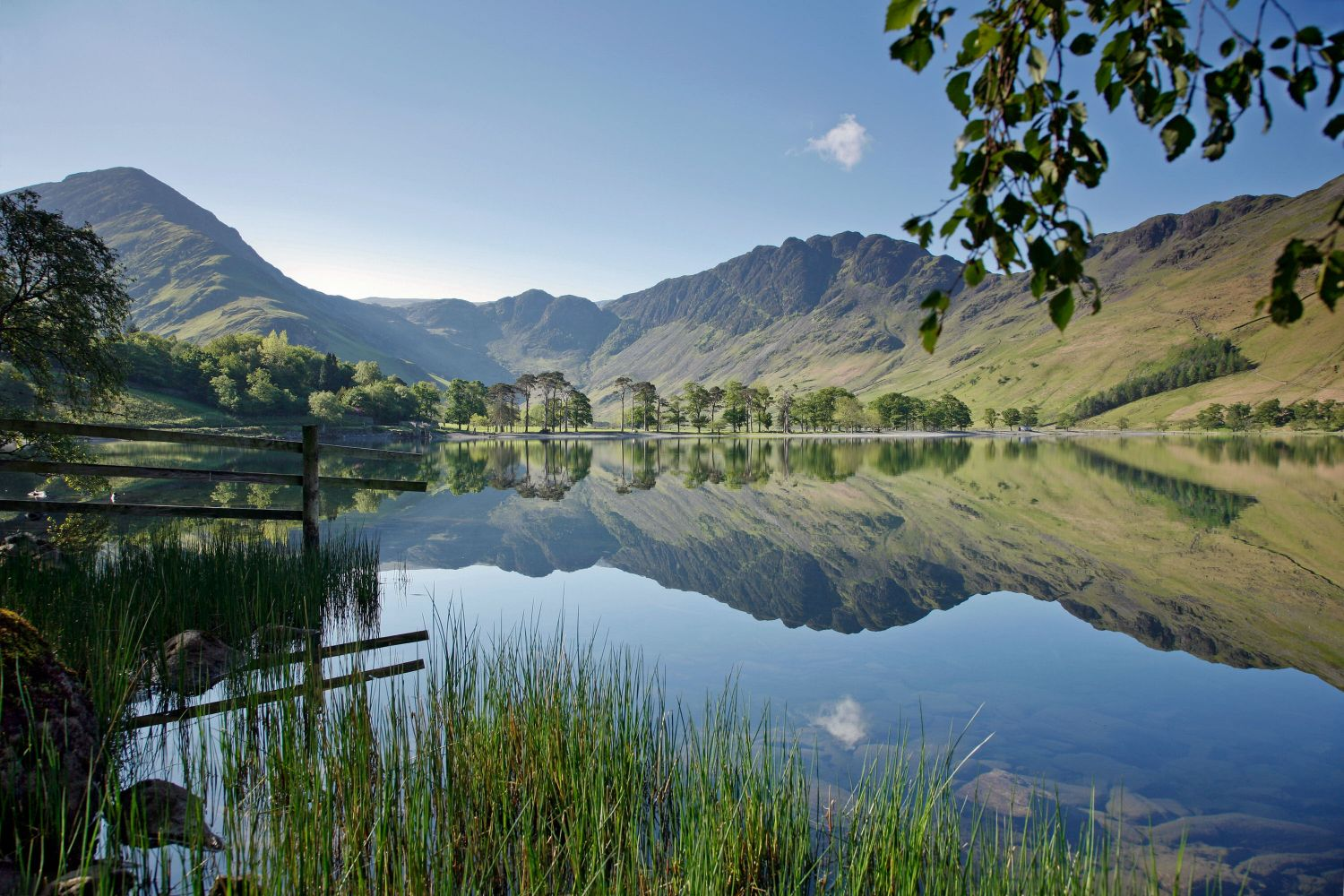 Fleetwith Pike and Haystacks Buttermere