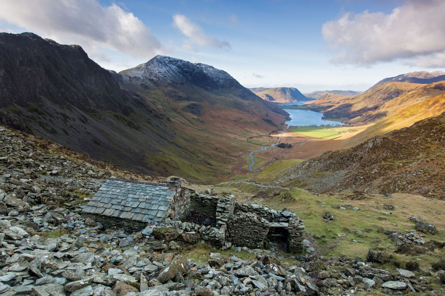 A view to die for from Warnscale Bothy