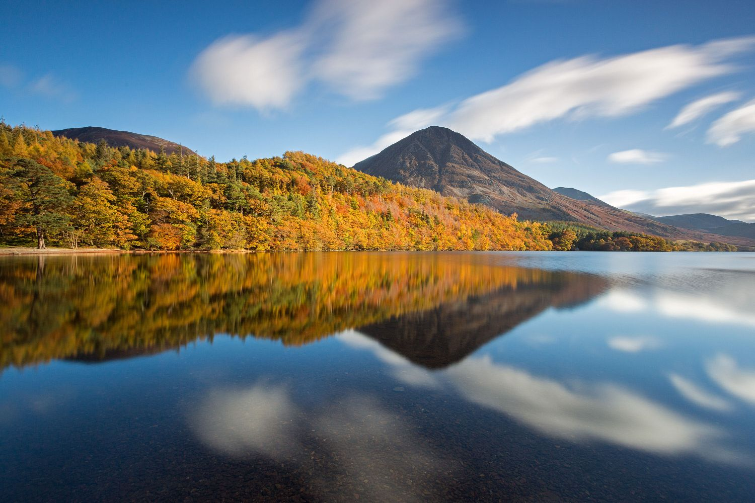 Autumn colours at Crummock Water