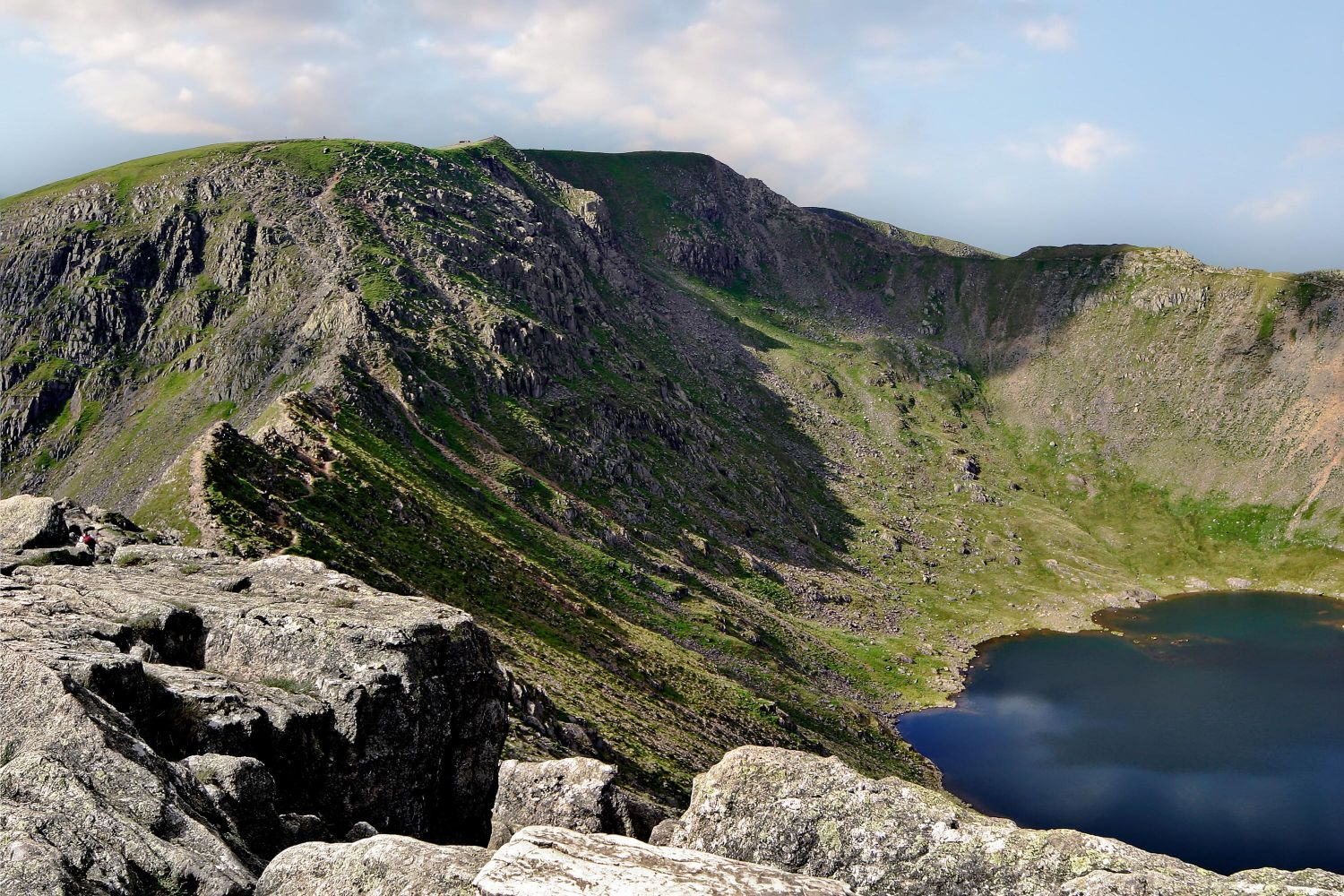 Red Tarn and Striding Edge Helvellyn