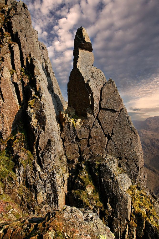 Napes Needle below Great Gable by Martin Lawrence