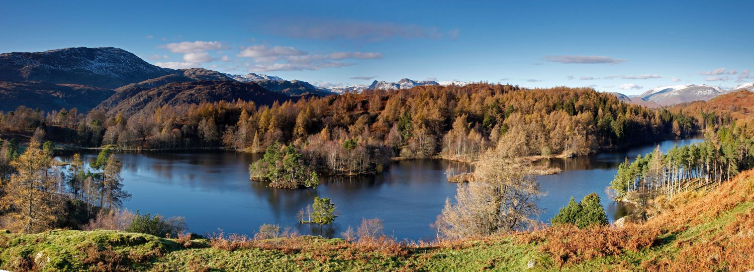 Autumn colours at Tarn Hows