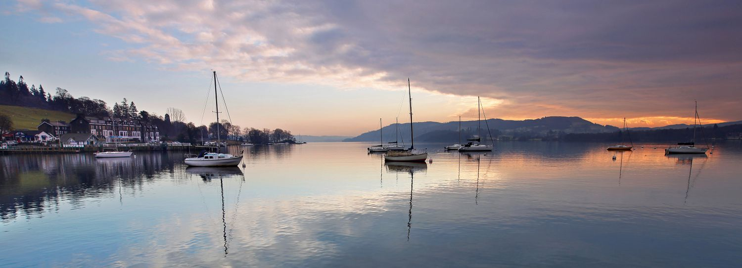 Sunset at Windermere