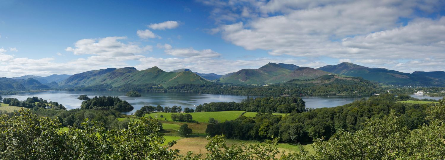 Catbells and Derwentwater from Castlehead
