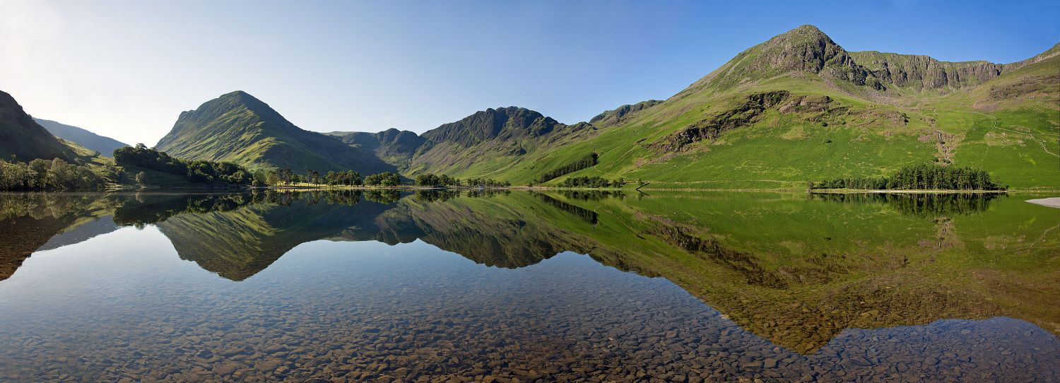 Haystacks, Fleetwith Pike and the High Stile Range