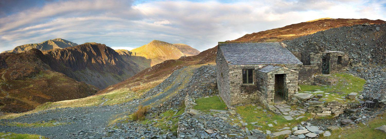 Haystacks panorama from Dubs Hut
