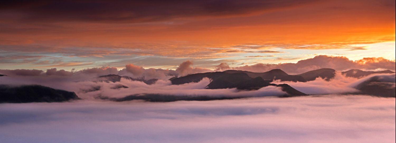 Cloud Inversion over Bassenthwaite Vallley
