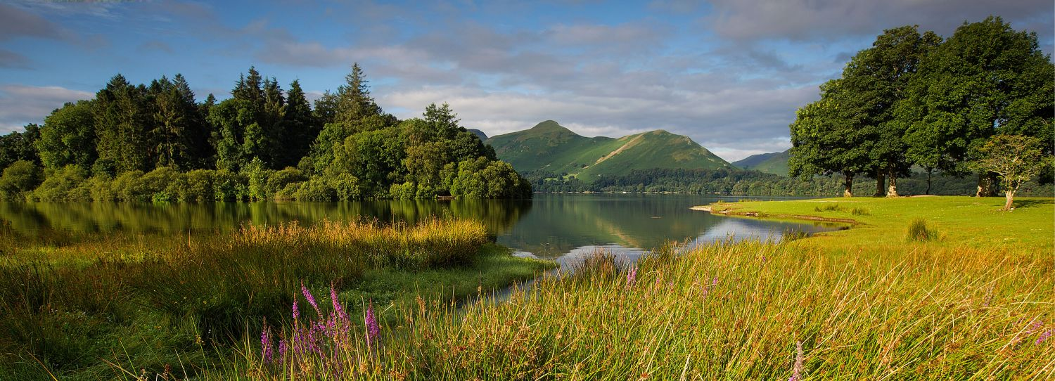 The Golden Hour at Derwentwater and Catbells