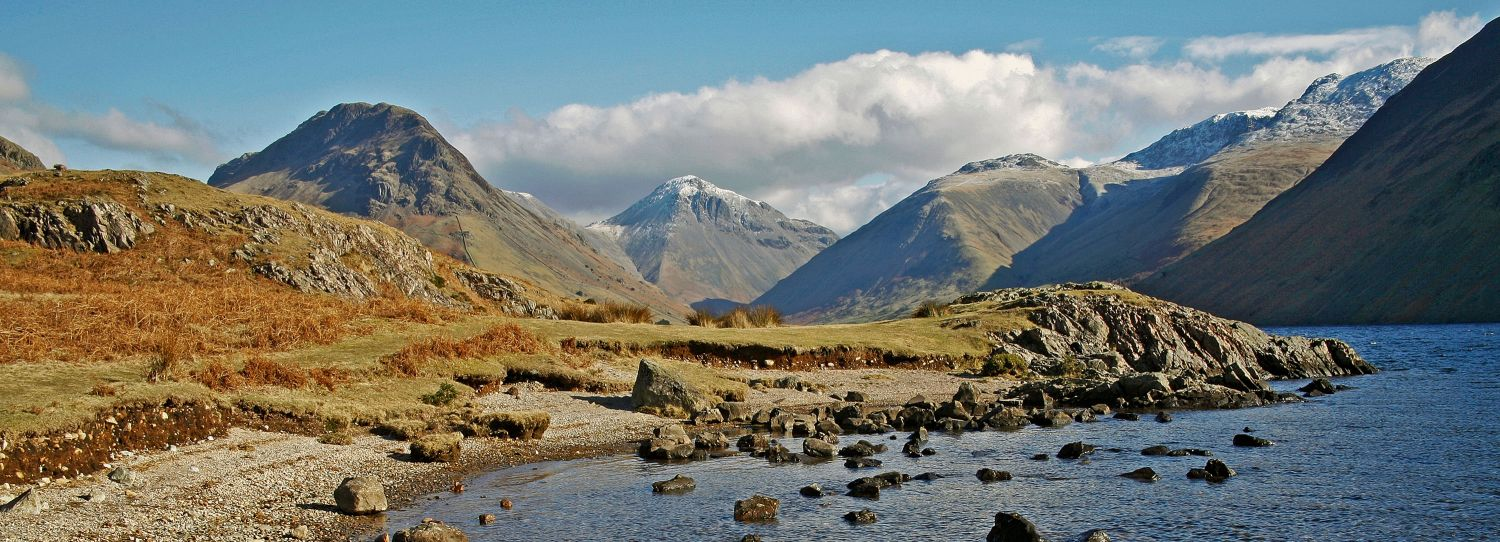 Yewbarrow, Great Gable, Lingmell and the Scafell Massif from Wasdale