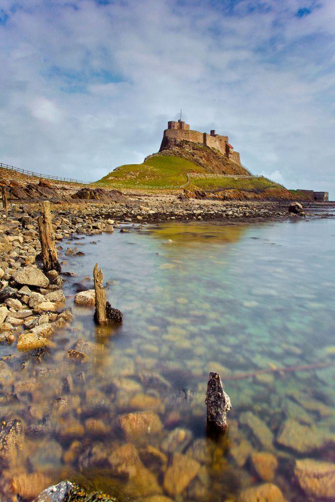 Lindisfarne Castle at Holy Island