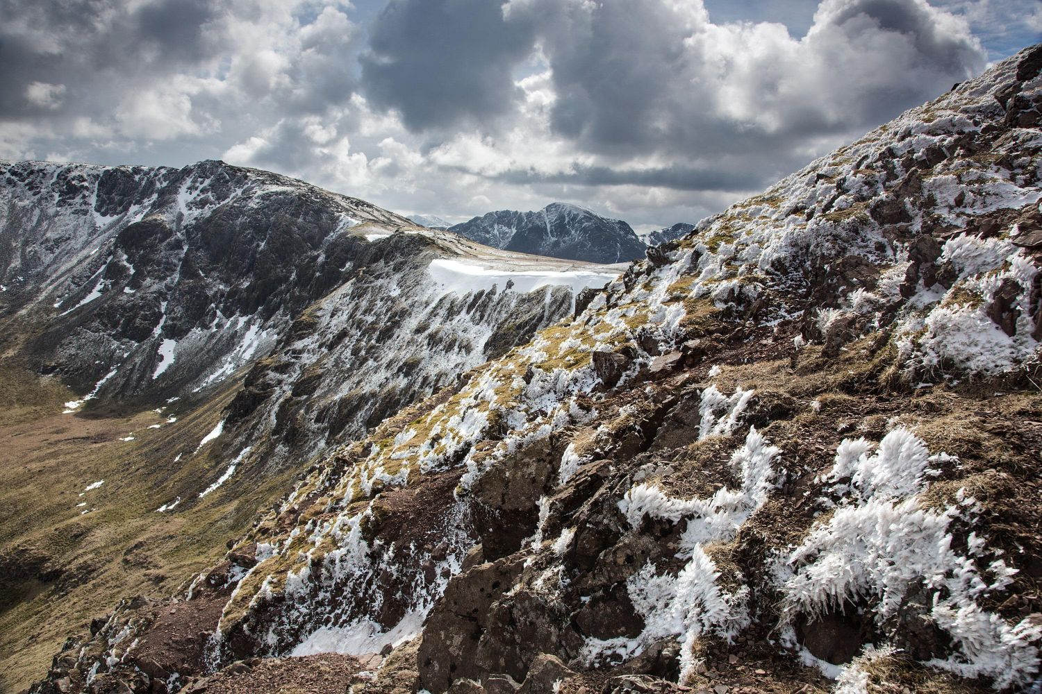 High Stile Ridge and Pillar from Red Pike