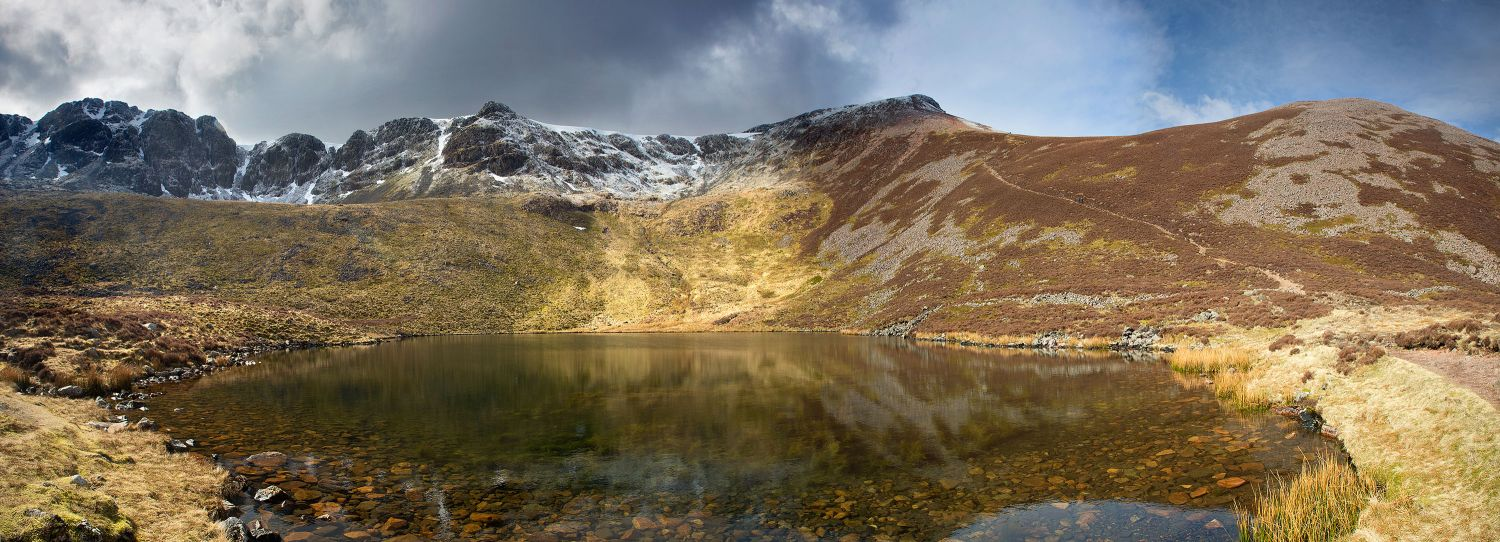 Red Pike and High Stile from Bleaberry Tarn