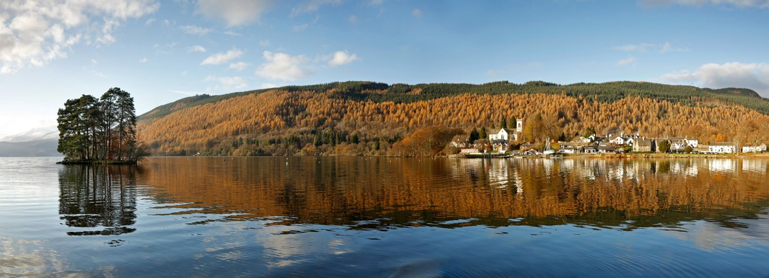 Autumn Reflections of Kenmore, Taymouth