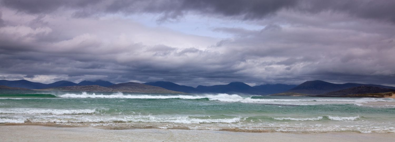 Taransay & Luskentyre from Seilebost, South Harris