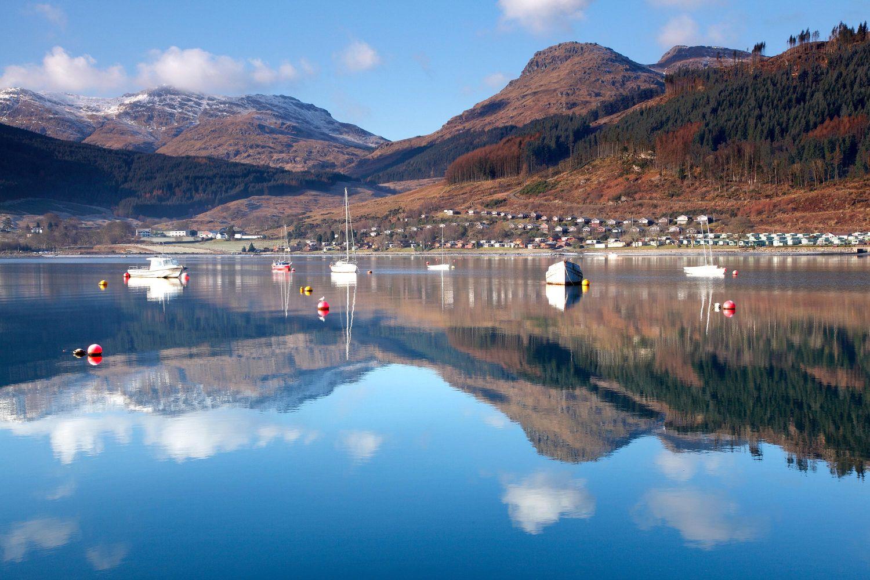 Perfect reflections at Lochgolihead