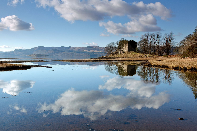 Old Castle Lachlan Reflections, Loch Fyne