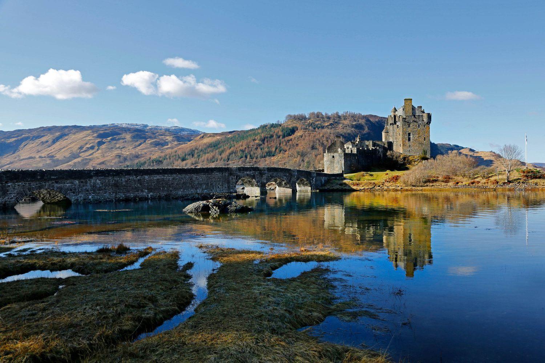 Reflections of Eilean Donan Castle