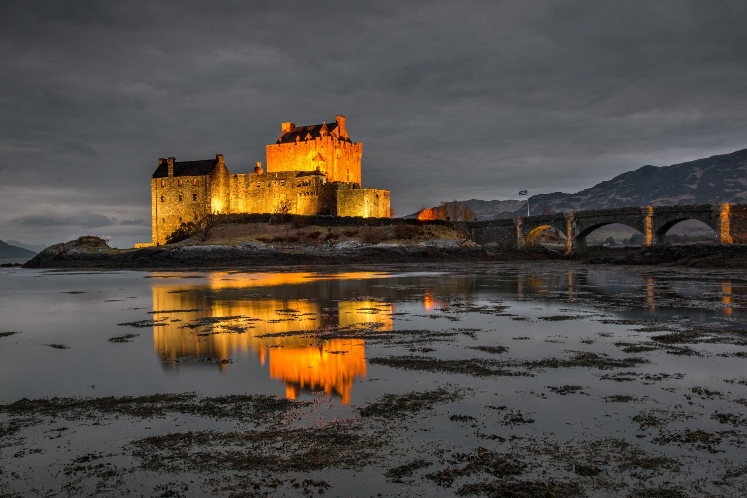 The Blue Hour at Eilean Donan Castle