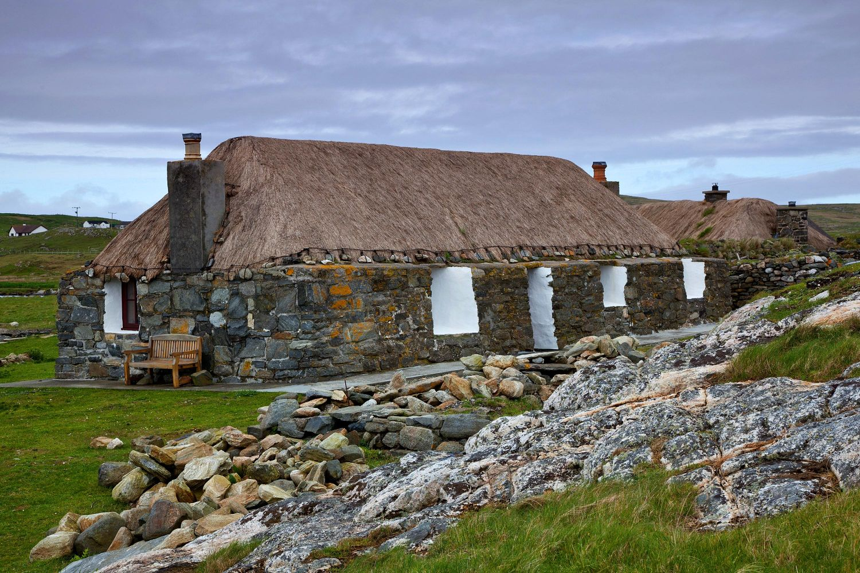 Restored Blackhouses on Berneray