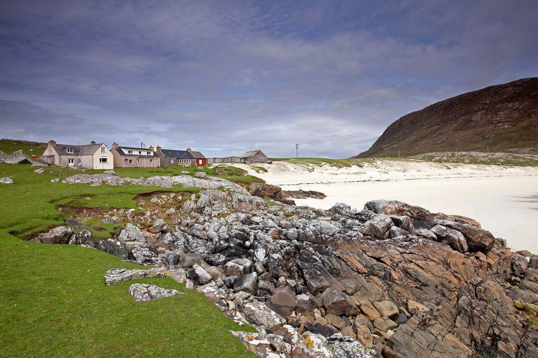 Hushinish Beach on the Isle of Harris