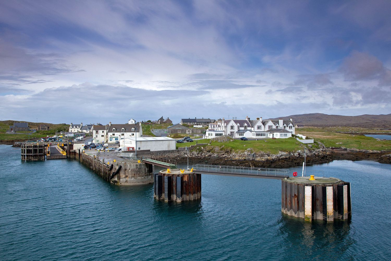 Lochboisdale on the Isle of Harris