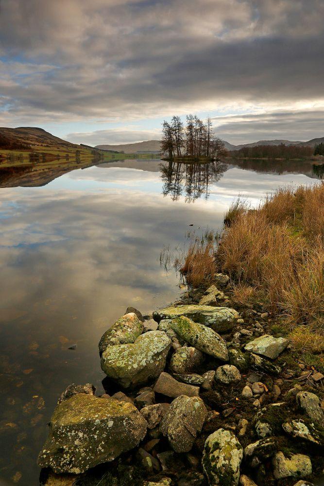 Loch Freuchie in Glen Quaich