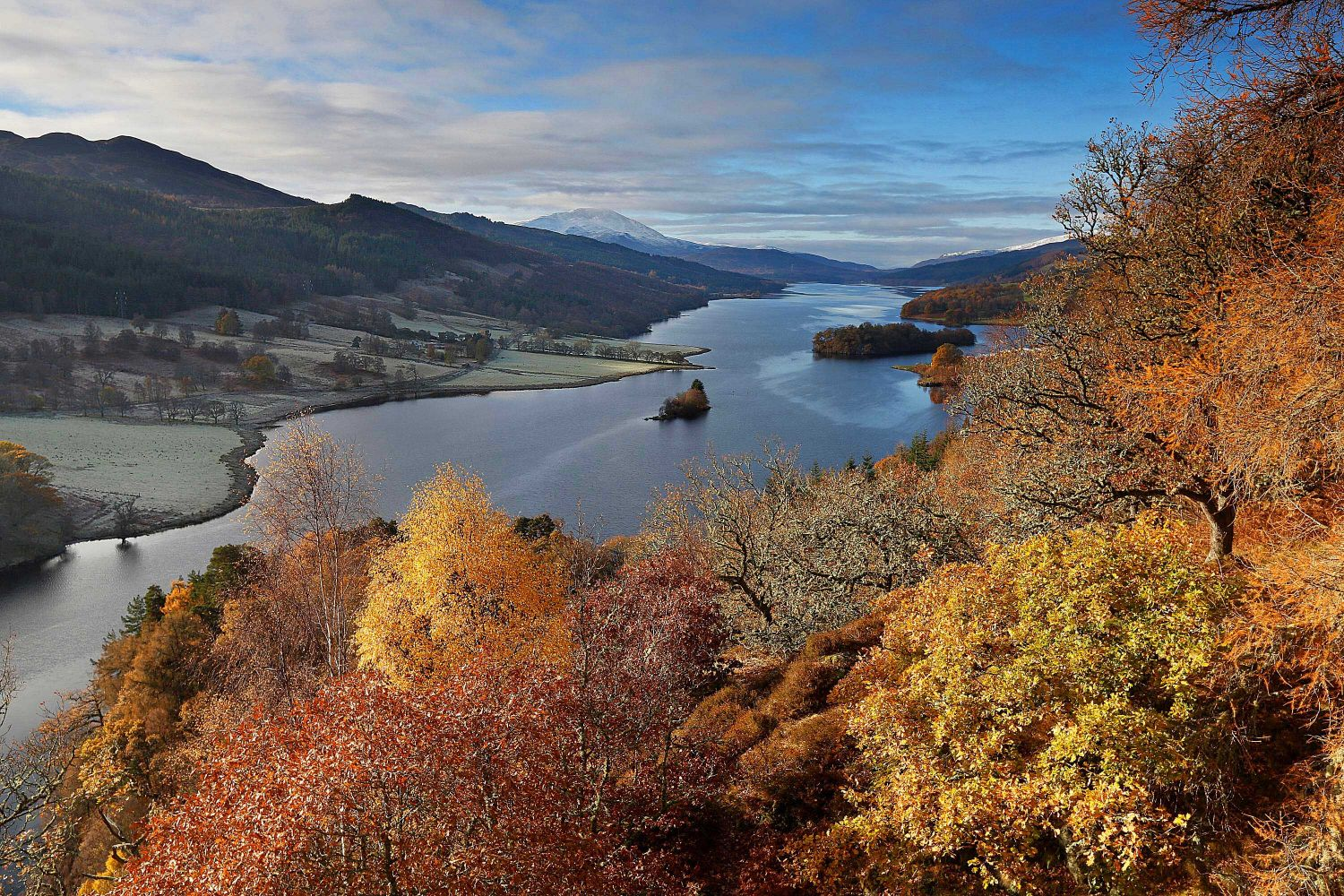 Queens View near Pitlochry