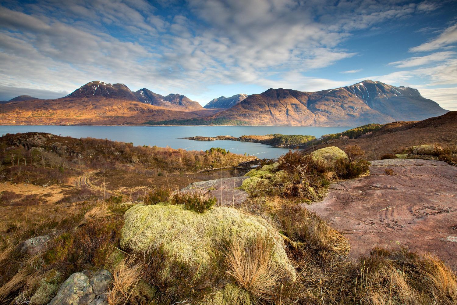 The Mountains of Upper Loch Torridon