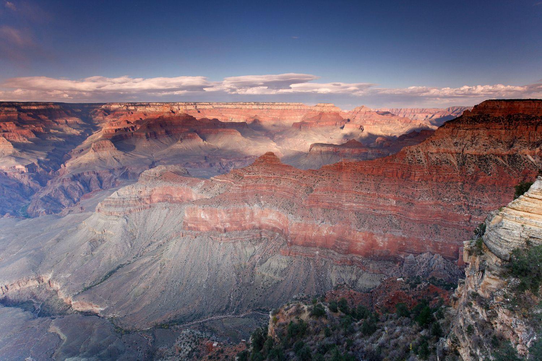 Sunset at Pipe Creek, Grand Canyon South Rim