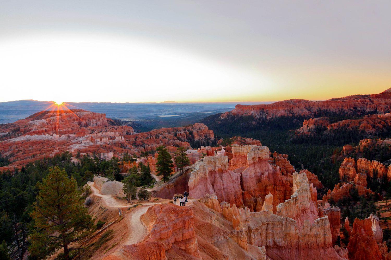 Sunrise Point, Bryce Canyon.
