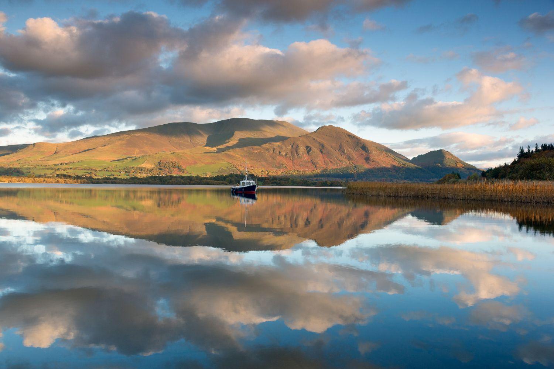 Reflections of Skiddaw at Bassenthwaite Lake